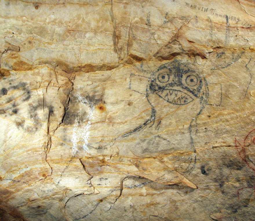 Пещеру коренных американцев с наскальными рисунками пустили с молотка.Вокруг Света. Украина