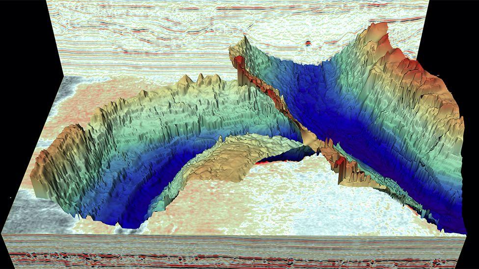 Гляциологи создали 3D-карту глубинного рельефа Северного моря