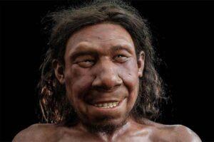 Палеохудожники воссоздали образ неандертальца, жившего на территории Нидерландов