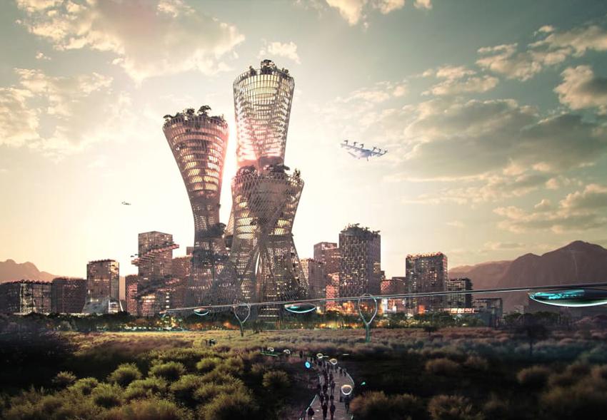 В американской пустыне вырастет экологичный мегаполис за $400 млрд.Вокруг Света. Украина