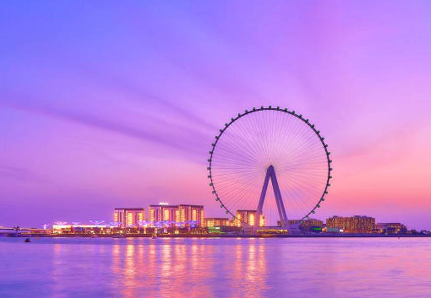 250 метров над землей: как строили самое высокое в мире колесо обозрения в Дубае