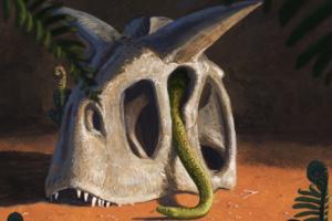 Убивший динозавров астероид способствовал разнообразию змей на Земле