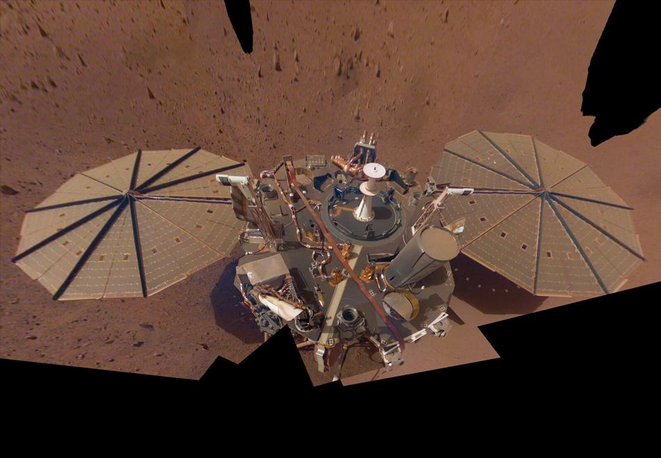 Зонд NASA зафиксировал на Марсе три землетрясения за месяц.Вокруг Света. Украина