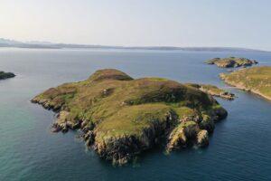 В Шотландии продают необитаемый остров для общения с морскими свиньями