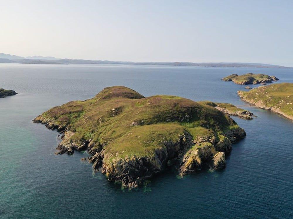 В Шотландии продают необитаемый остров для общения с морскими свиньями.Вокруг Света. Украина