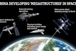 Китай предложил создать космическую станцию многокилометровой длины