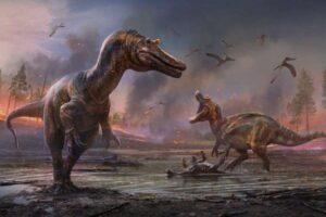 На острове Уайт найдены останки крупных хищных динозавров двух новых видов