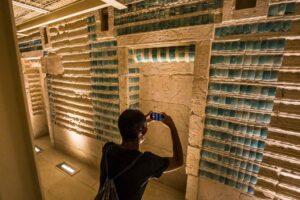 Гробницу фараона Джосера на плато Саккара после реставрации открыли для туристов