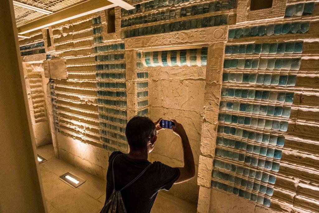 Гробницу фараона Джосера на плато Саккара после реставрации открыли для туристов.Вокруг Света. Украина