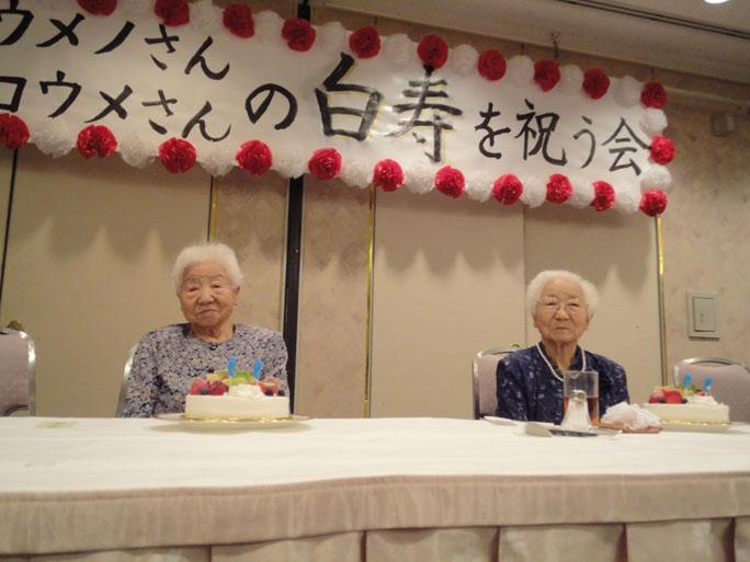 В Японии живут старейшие близнецы в мире.Вокруг Света. Украина