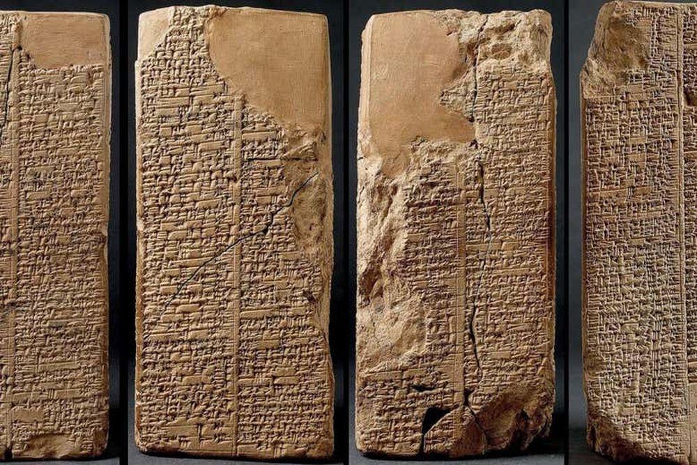AI восстановит утраченные фрагменты клинописи на шумерских глиняных табличках.Вокруг Света. Украина