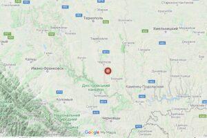 В Тернопольской области произошло ощутимое землетрясение