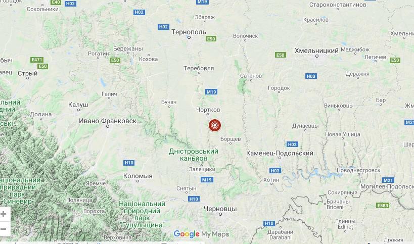 В Тернопольской области произошло ощутимое землетрясение.Вокруг Света. Украина