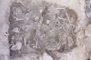 В Ливане нашли редчайшую братскую могилу крестоносцев