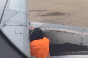 Почему самолеты ремонтируют скотчем