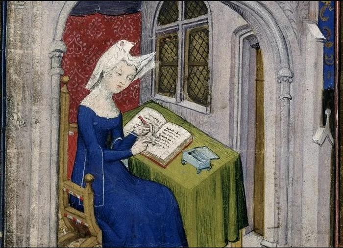 Google посвятил дудл одной из первых в истории женщин-писательниц Кристине де Пизан.Вокруг Света. Украина