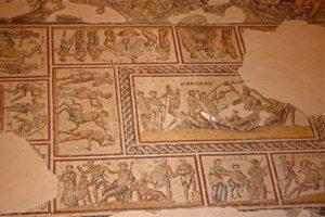 В Израиле раскопали винный пресс византийской эпохи с искусной мозаикой