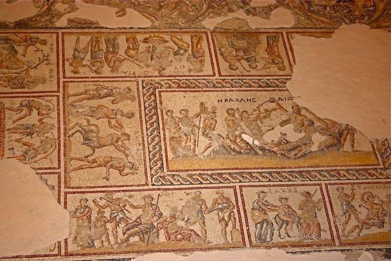 В Израиле раскопали винный пресс византийской эпохи с искусной мозаикой.Вокруг Света. Украина