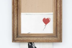Скандальную картину Бэнкси снова выставят на аукцион