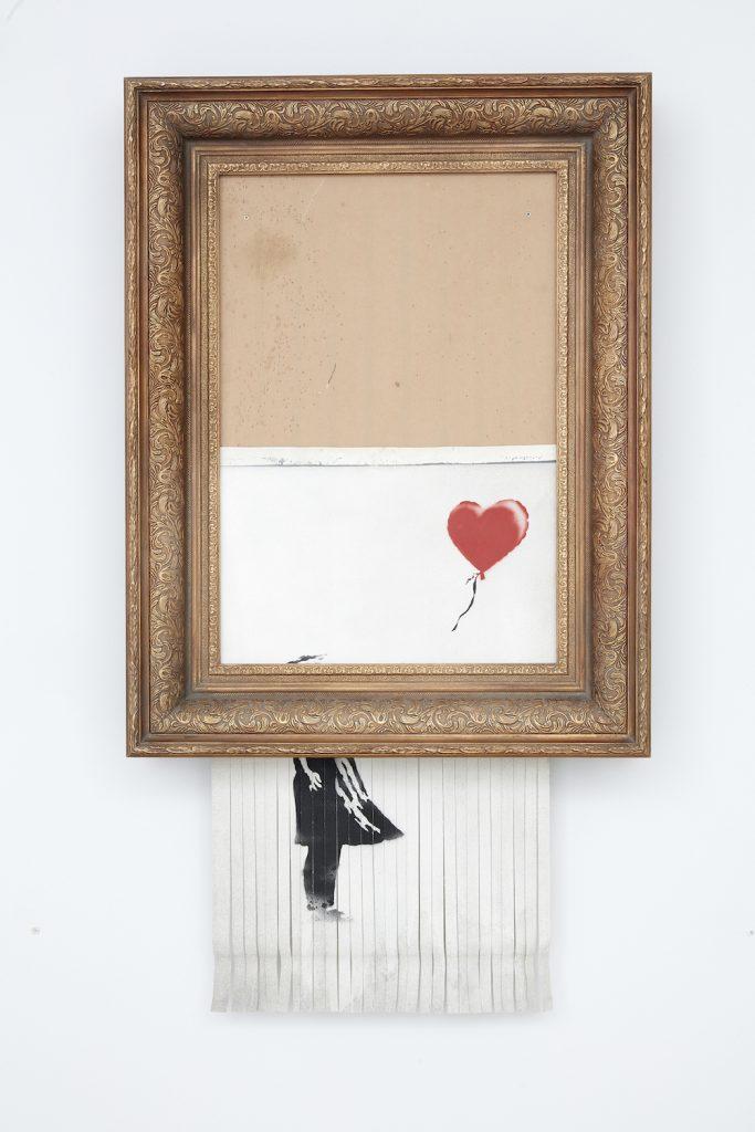 Скандальную картину Бэнкси снова выставят на аукцион.Вокруг Света. Украина