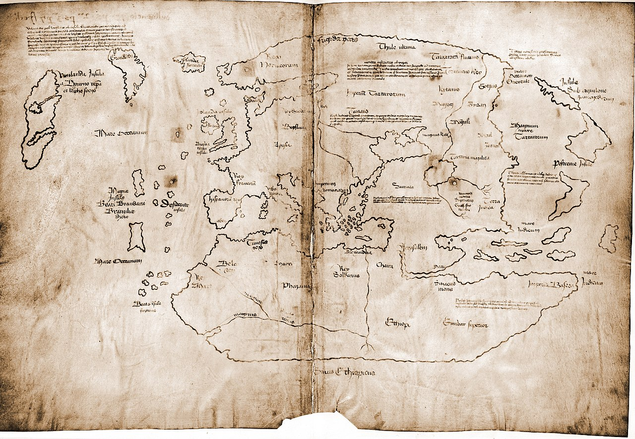 Старейшая карта Америки оказалась фальшивкой.Вокруг Света. Украина