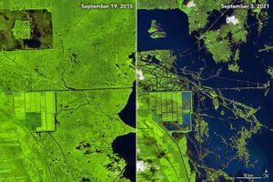 Ураган «Ида» перекроил карту Луизианы