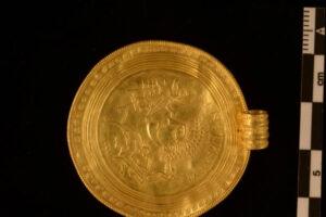 В Ютландии нашли клад золотых медальонов, посвященных  богу Одину