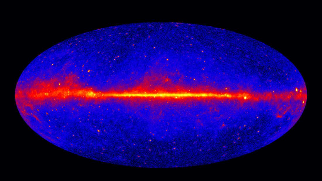 Астрофизики разгадали загадку космических гамма-лучей, которые исходят из пустоты