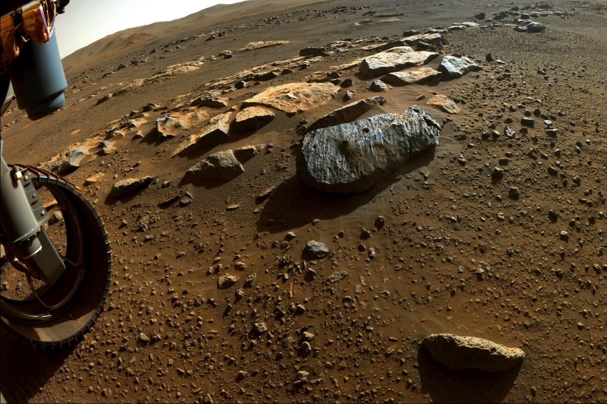 Ровер Perseverance обнаружил в почве Марса следы воды.Вокруг Света. Украина
