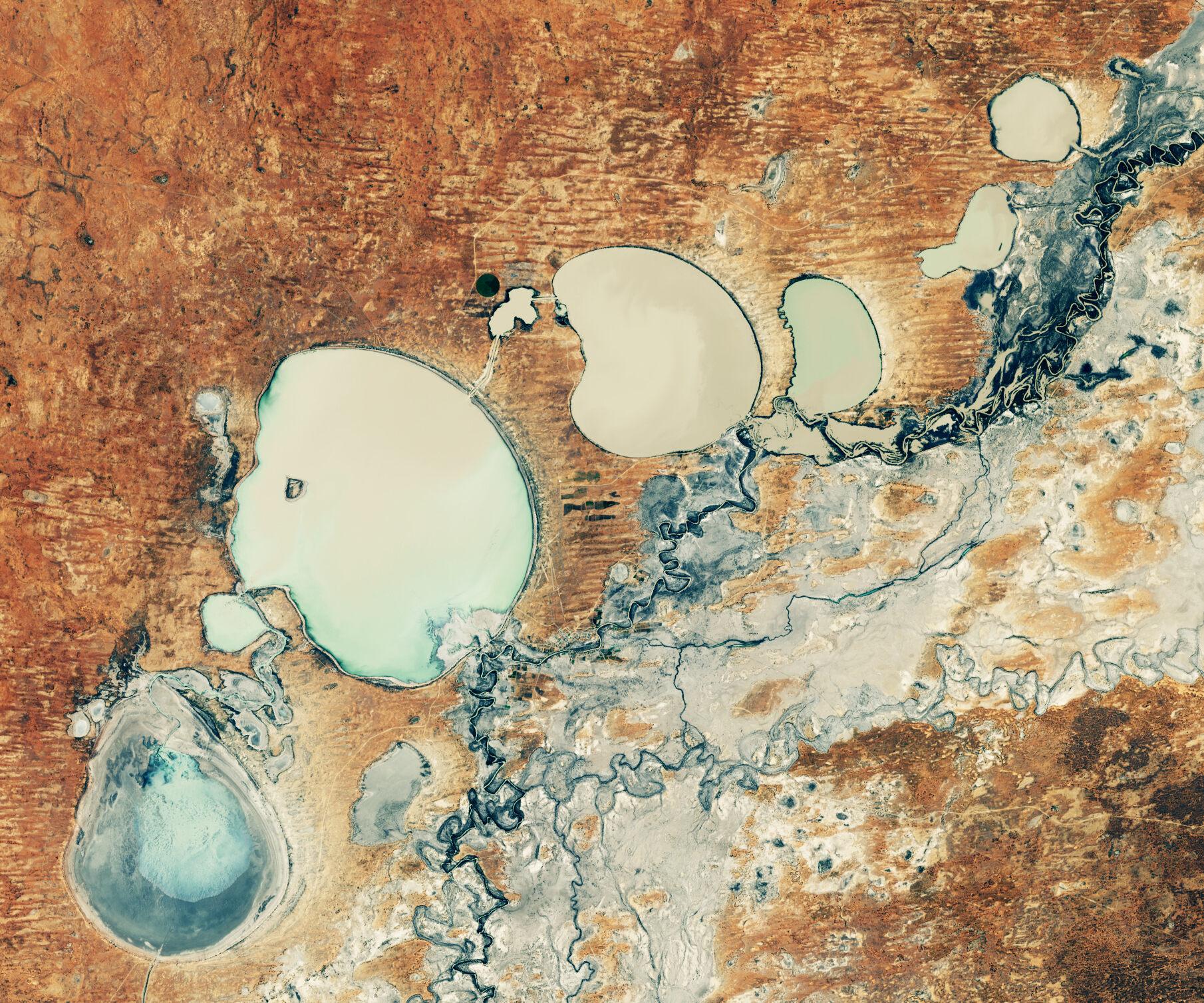 В Австралии по настоянию аборигенов возродили систему озер.Вокруг Света. Украина