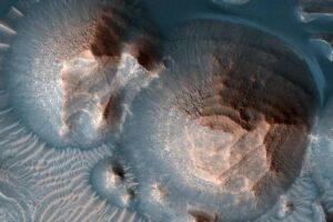 Молодой Марс подвергался тысячам суперизвержений вулканов: NASA