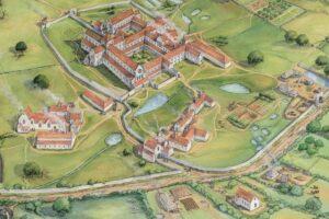 В Англии воспроизвели облик легендарного аббатства, разрушенного в XVI веке