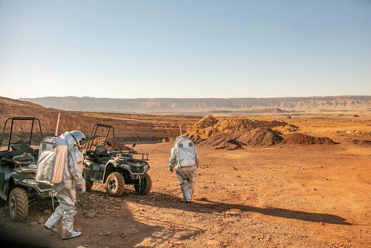 В израильской пустыне построили марсианскую базу.Вокруг Света. Украина