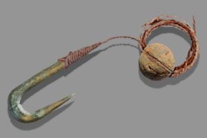 В Израиле раскопали склад древнейших рыболовных снастей