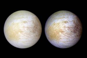 «Хаббл» заметил водяной пар на ледяном спутнике Юпитера