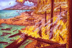 Антарктида пострадала от лесных пожаров 75 млн лет назад