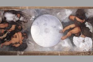 В Риме на аукцион выставили виллу с уникальной потолочной фреской Караваджо