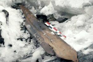 В Норвегии археологи нашли лыжи викингов