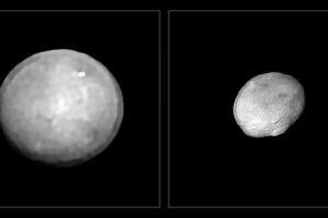 Гигантские скалы в поясе астероидов: удивительные космические снимки