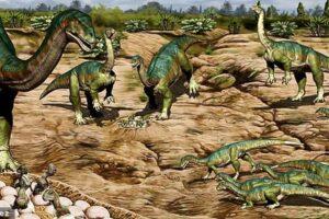 Самое древнее стадо: первые динозавры были общественными животными
