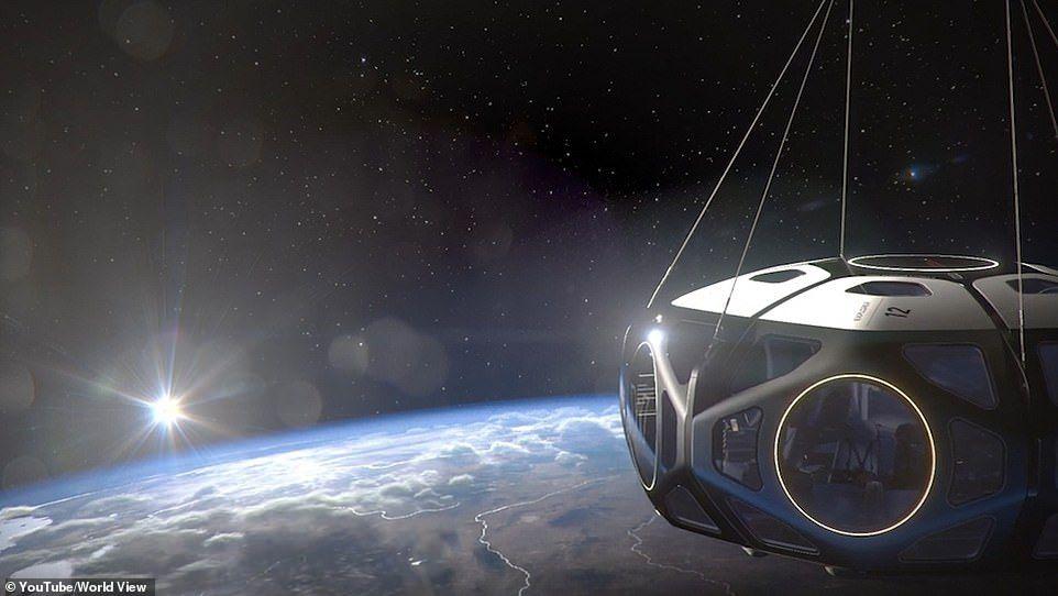 С 2024 года туристы смогут летать на воздушных шарах в стратосферу.Вокруг Света. Украина