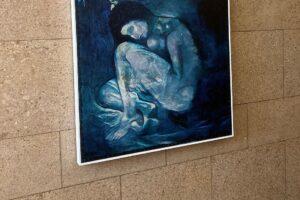 Искусственный интеллект помог восстановить работу Пикассо, скрытую под другой картиной