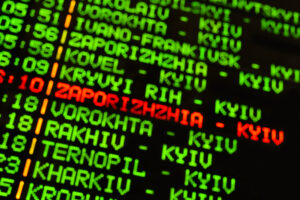 В Украине вводят проверку COVID-статуса на внутренних рейсах