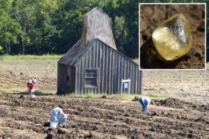 Думали, конфета: в США туристы нашли алмаз во время прогулки