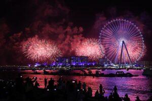 В Дубае  открыли крупнейшее колесо обозрения в мире (видео)