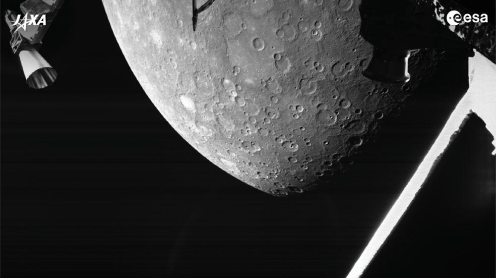 Европейско-японский зонд BepiColombo сделал первые снимки Меркурия.Вокруг Света. Украина