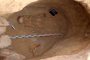 В захоронении скифа на Хортице нашли тайник