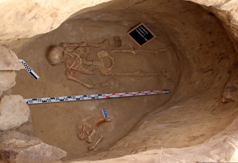 В захоронении скифа на Хортице нашли тайник.Вокруг Света. Украина