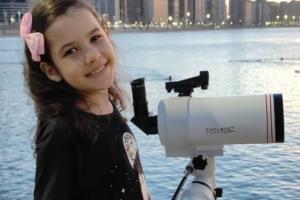 Восьмилетняя бразильянка открыла 18 астероидов