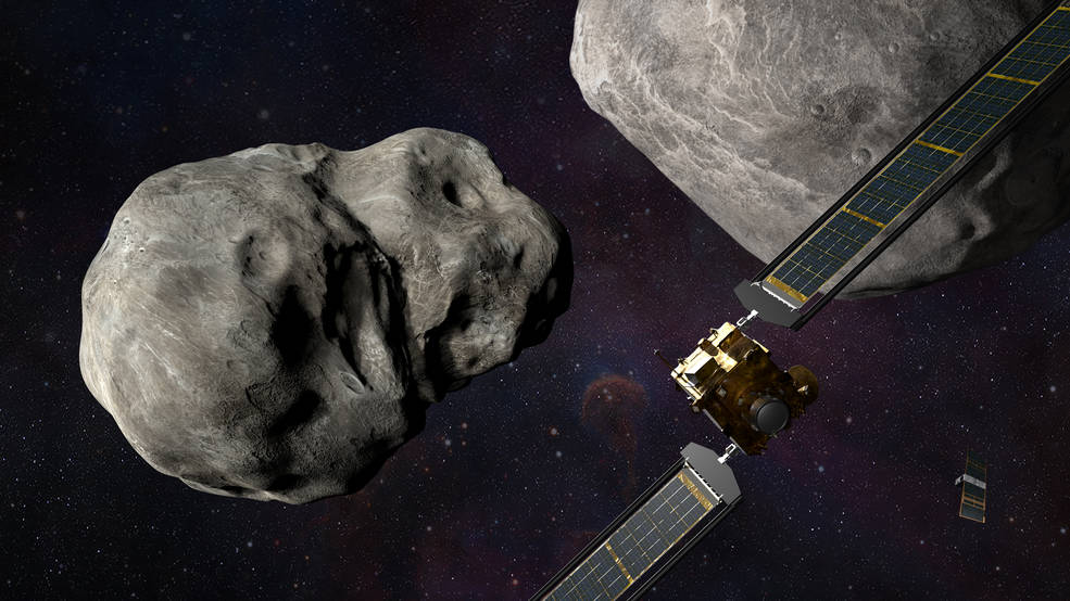 Миссия возможна: NASA протестирует систему защиты Земли от опасных астероидов.Вокруг Света. Украина